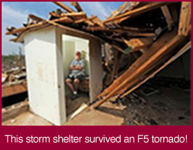 This Shelter Survived an F5 Tornado!